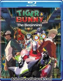 Tiger & Bunny the Movie: The Beginning Blu-Ray