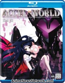 Accel World Blu-Ray