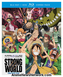 One Piece Movie 10: Strong World BD+DVD