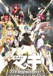 Magi - The Kingdom of Magic Episodes 1-12 Streaming