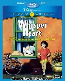 Whisper of the Heart Blu-Ray + DVD