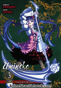 Umineko When They Cry Episode 5: End of the Golden Witch Volume 3 GN 12