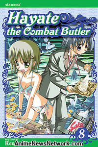 Hayate the Combat Butler GN 8