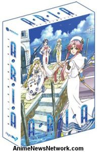 Aria The Animation Sub.DVD