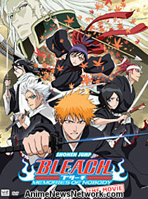 Bleach the Movie: Memories of Nobody DVD