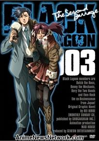 Black Lagoon: Second Barrage DVDs 2 and 3
