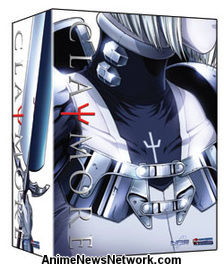 Claymore + Artbox DVD 1