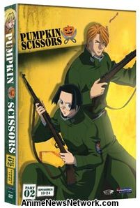 Pumpkin Scissors DVD Box Set Part 2