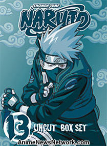 Naruto Box Set 13 DVD