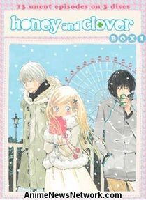 Honey and Clover DVD part 1