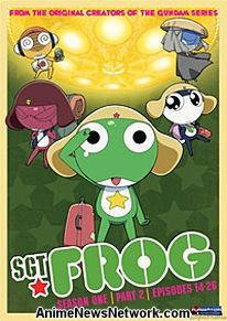 Sgt. Frog DVD Season 1 Part 2
