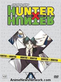 Hunter x Hunter DVD Set 4