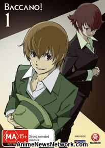 Baccano! Vol. 1 DVD 1