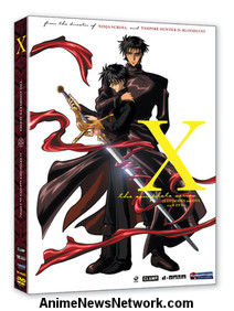 X DVD Complete Series