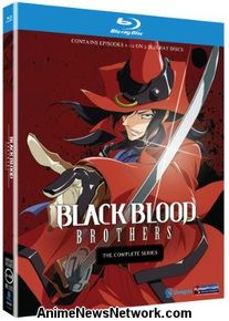 Black Blood Brothers Blu-Ray