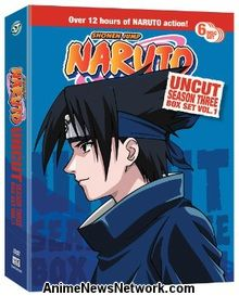 Naruto Season 3 Box Set 1