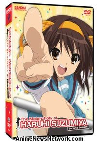 The Melancholy of Haruhi Suzumiya DVD Second Season