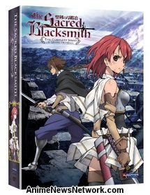 The Sacred Blacksmith DVD