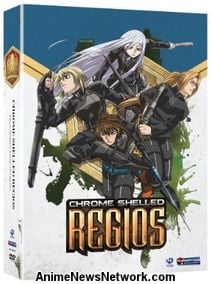 Chrome Shelled Regios DVD Parts 1 and 2