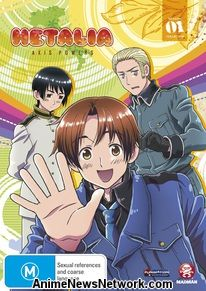 Hetalia: Axis Powers Season 1 Collection DVD