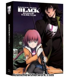 Darker Than Black: Gemini of the Meteor + OVAs (Limited Edition) Blu-Ray + DVD