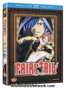 Fairy Tail Blu-Ray + DVD 3
