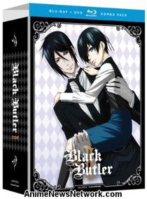 Black Butler Season 2 Blu-Ray + DVD