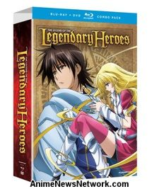 Legend of the Legendary Heroes Blu-Ray + DVD