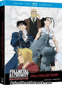 Fullmetal Alchemist: Brotherhood OVA Blu-Ray + DVD