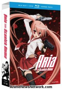 Aria the Scarlet Ammo BD+DVD