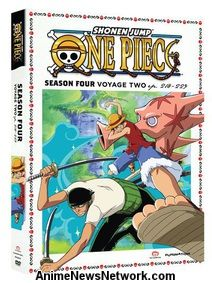 One Piece DVD Season 4 Part 2