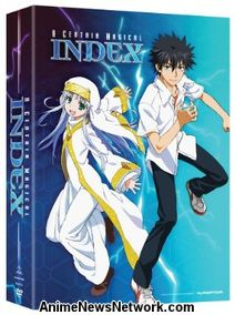 A Certain Magical Index DVD 1 & 2