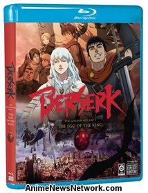 Berserk: The Golden Age Arc I Blu-Ray
