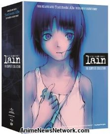 Serial Experiments Lain BD+DVD