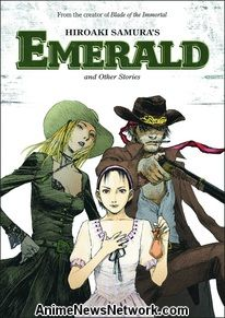 Hiroaki Samura's Emerald and Other Stories GN