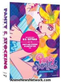 Panty & Stocking with Garterbelt Blu-Ray