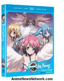Heaven's Lost Property the Movie: The Angeloid of Clockwork BD+DVD