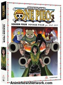 One Piece DVD Season 4 Part 4