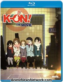 K-ON! The Movie Blu-Ray