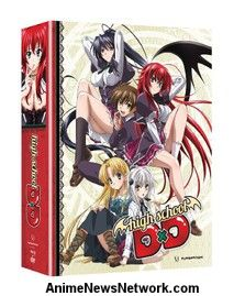 High School DxD BD+DVD