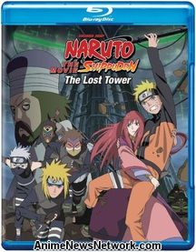 Naruto Shippūden: The Lost Tower Blu-Ray