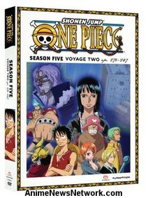 One Piece DVD Season 5 Part 2