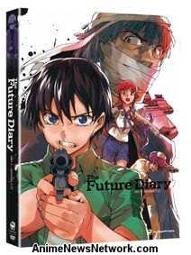 The Future Diary Complete Series DVD