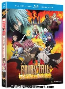 Fairy Tail the Movie: Phoenix Priestess BD+DVD