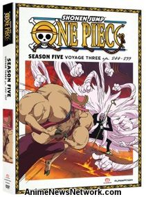 One Piece DVD Season 5 Part 3