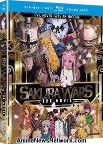 Sakura Wars: The Movie BD+DVD