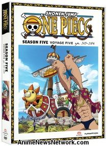 One Piece DVD Season 5 Part 5