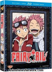 Fairy Tail BD+DVD Parts 7-8