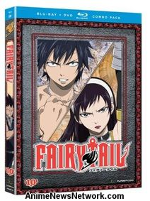 Fairy Tail BD+DVD Part 10