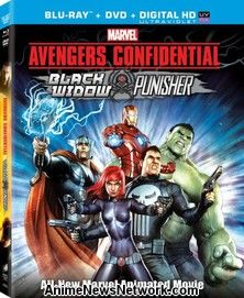 Avengers Confidential: Black Widow & Punisher BD+DVD